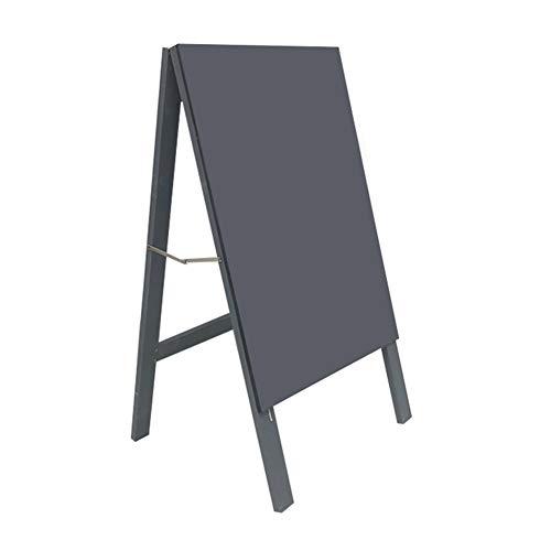 CHAOXIAN Pizarra Tablero Tablero De Mensaje Soporte Vertical Panel Gris Café Bar Cartelera Multifuncional (Color : A,...