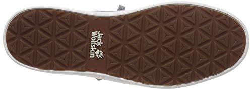 Low in titanio M Jack da Wolfskin Sneakers Grey Auckland Low 6005 uomo gwOxSqR