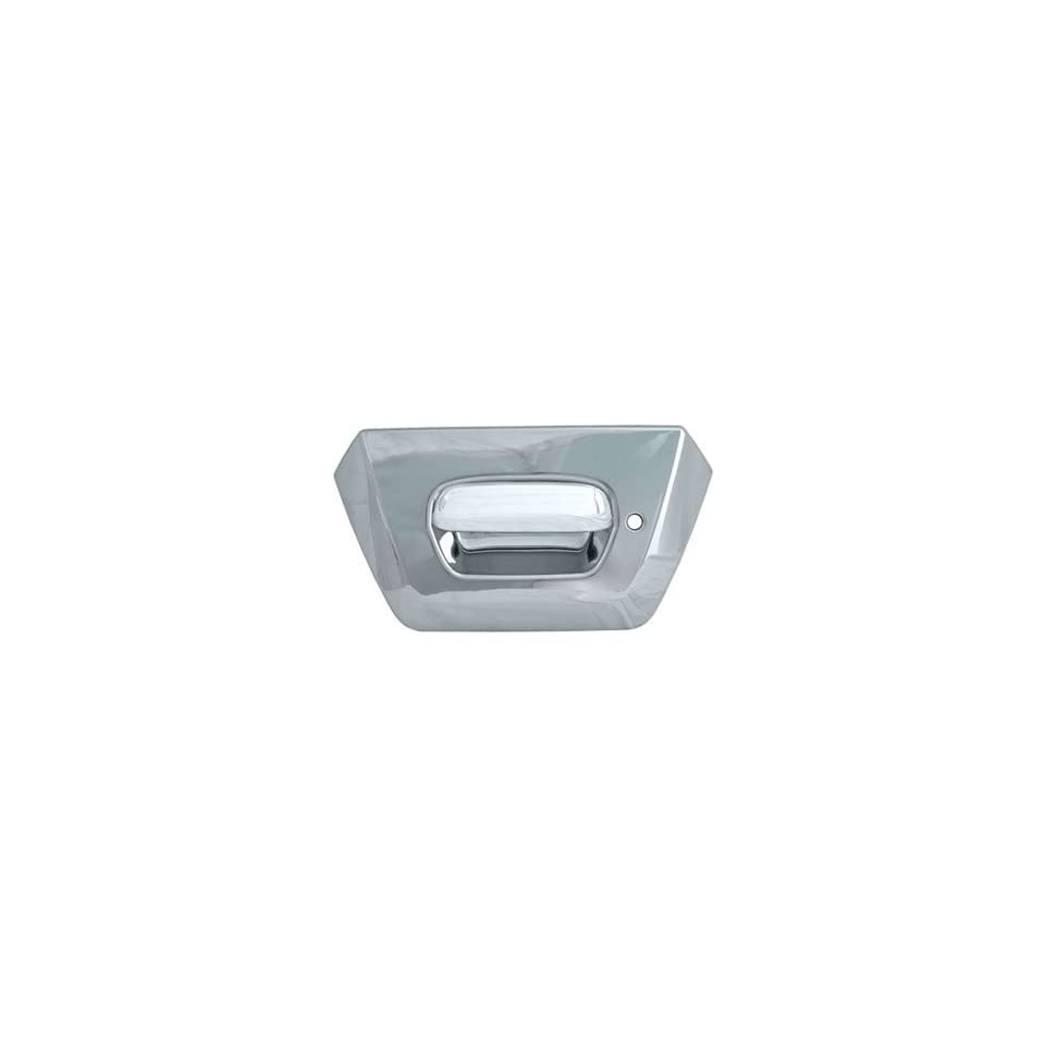 Full Chrome Tailgate Handle Cover Kit With Surround Automotive