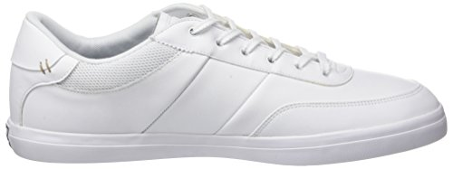 Lacoste Men's Court-Master 118 2 Cam Trainers White (Wht/Nvy) 7MfAWBfauU