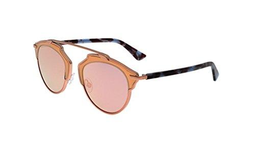 Dior RJP Matte Pink Blue Havana So Real Aviator - Dior Real So