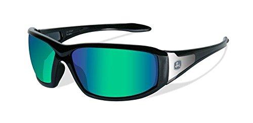 John Deere Wiley X Avert-X Safety Sunglasses Green - John Deere Sunglasses