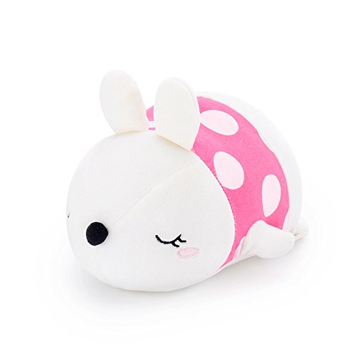 Gbell Girls Cute Soft Stuffed Rabbit Toys- Baby Plush Animal Doll Toy Emotional Companion Toys for Toddler Girls Boys Kids Adults,1Pcs Easter Rabbit 10.5 inches