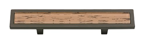 (Atlas Homewares 231-OW-O Spa Brown Tiger 3 in. (76mm) Pull, Aged)