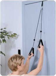 """Reach 'N Range Pulley With metal bracket-""""Fits standard and thick doors - Model A873624"""
