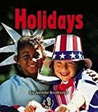 Holidays, Jennifer Boothroyd, 0822557282