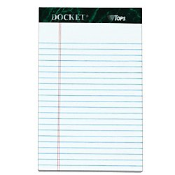 TOPS Docket Writing Pads, 5