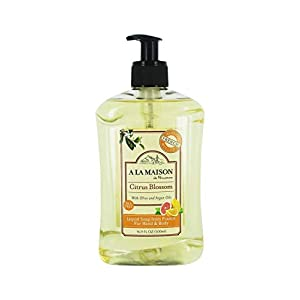 A LA MAISON Citrus Blossom Liquid Hand & Body Soap, 16.9 FZ