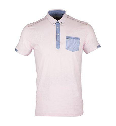 Polo Shirt Mens London Guide SJ.3920 Pink