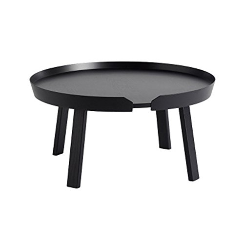 LXYFMS Nordic Round Table Sofa Living Room Balcony Small Apartment Economy Circular Leisure Simple Assembly Mini Coffee Table Folding Table (Color : E, Size : #1)