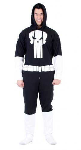 Marvel Men's Fully Loaded One Jumpsuits, Black, XX-Large ()