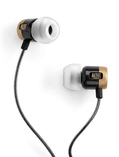 Altec Lansing Black Computer Speaker - Altec Lansing UHP606 Reference Earphones (Black/Gold) (Discontinued by Manufacturer)