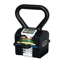 New Powerblock 20 Adjustable Kettleblock Fitness Kettlebell Weights 2-9kgs by Power Block