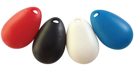 Tear Drop Shaped Dog Training Clicker(4pack)