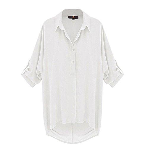 Camicie Donna Sciolto Autunno Irregular Glamorous Tops Fashion XTr8X