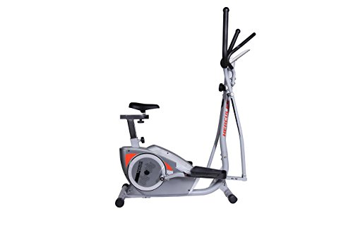Hercules Fitness EL10 Elliptical Trainer, Silver/Grey 2015