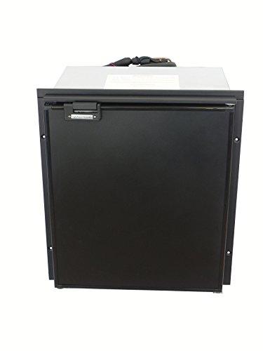 (TruckFridge TF65 Black Refrigerator (2.4 cubic ft 12vDC for Commercial Vehicles))
