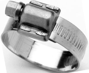 Scandvik 08134037044 Stainless Steel Hose Clamp (SAE Size 24, 38-50 mm, 1 1/2'' - 2'', 12mm Band, 13650), 10 Pack