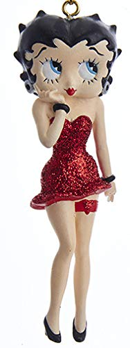 Betty Boop in Red Dress Ornament