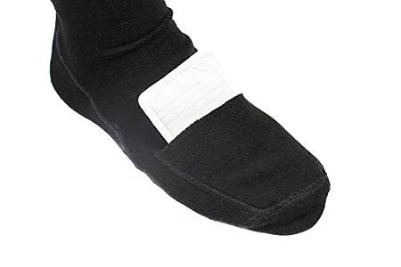 Calcetines Calefactables Dual Fuel con Mando a Distancia WarmawearTM - Mediano: Amazon.es: Jardín