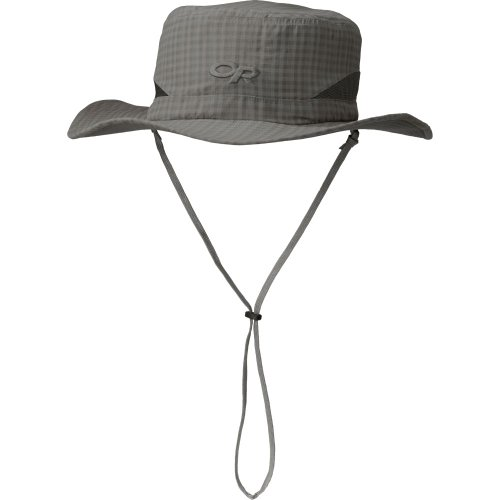 Outdoor Research Sol Sun Hat, Pewter Check, Small
