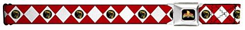 Power Rangers Live Action TV Series Red Ranger Seatbelt Belt (Power Ranger Belt)