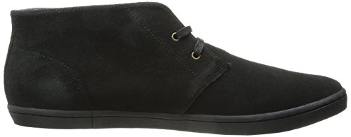 Fred Perry Byron Mid - - Hombre Negro