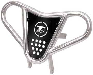 Blk Webbing TRX 400EX and TRX 400X 1999-14 Tusk Comp Series Nerf Bars Silver