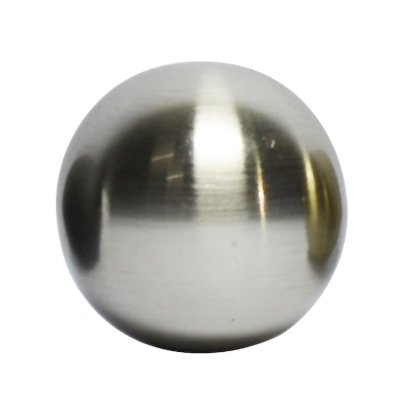 Urbanest Ball Lamp Finial for Lamp Shades, 1-1/4-inch Diameter (Brushed Nickel)