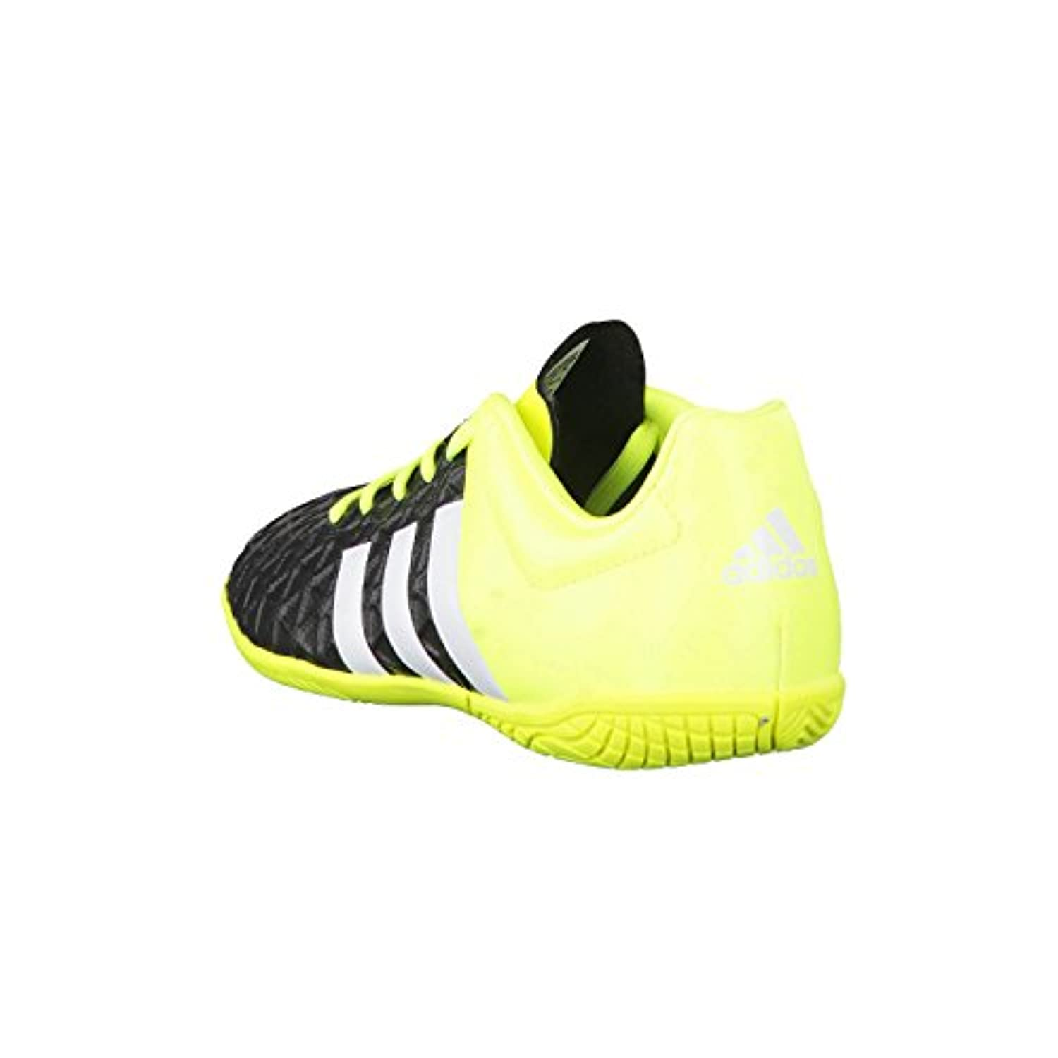 adidas Boys' ace15.4 Indoor football boots, Black / White / Yellow