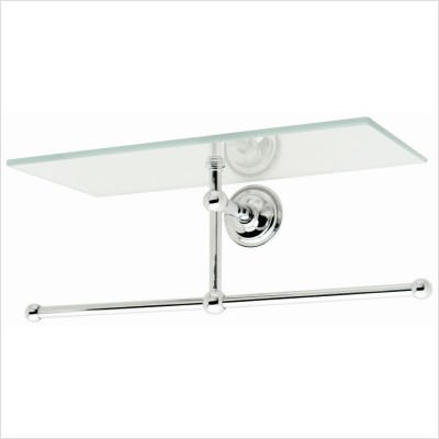Motiv 2636T-26 London Terrace 12'' Tray W/ Bar, Polished Chrome
