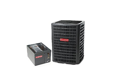1.5 Ton Pump Heat (Goodman 1.5 Ton 13 SEER AC R-410a with Upflow/Downflow Coil 17.5