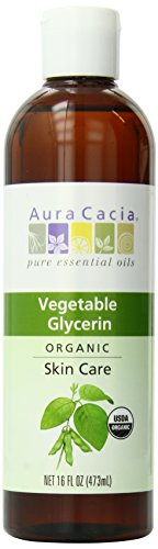 (Aura Cacia Skin Care Oil - Organic Vegetable Glycerin Oil - 16 Fl Oz, 16 Fluid Ounce)