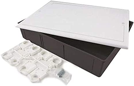 Caja de empotrar universal para colectores 510 x 295 x 80 mm con ...