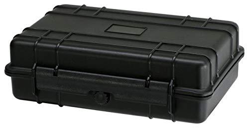 TZ Case Cape Buffalo Water-Resistant Utility Case, Black, 10 x 6.5 x 3in, CB-008 CB-008 B ()