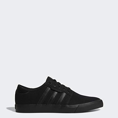 adidas Originals Men's Seeley Running Shoe, Black, 13 M US (Skate Shoes Fallen)