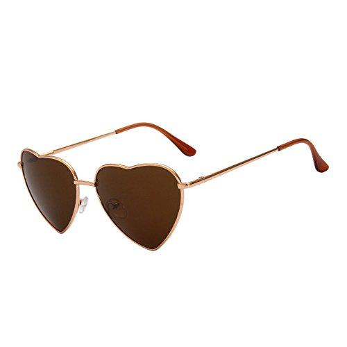 Forma Lens Calidad Sexy G397 Señoras Gafas Gold Marco Gradiente TIANLIANG04 De Oro Browen De Plata Aleación Gafas Sol De De En Vintage Corazón Sol Corazón Alta Tonos De Amor Mujer Mirrorro Sq7P7xAwU