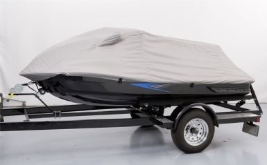 Covercraft Gray Cover (Covercraft XW870UG Covercraft covers protect against ultraviolet (UV) damage bird droppings tree sap and air pollutants - elements that can ruin the finish of an expensive watercraft. Car Cover Custom Fit Personal Watercraft Cover)