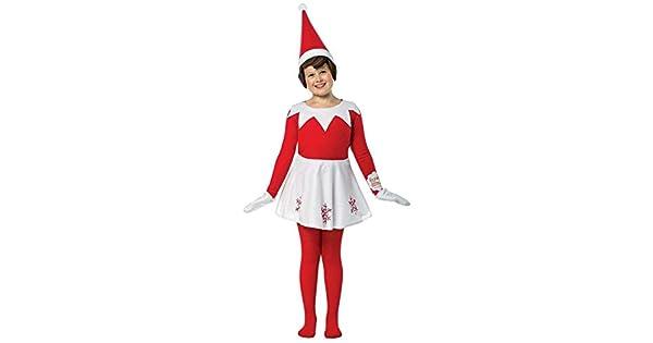 Amazon.com: Disfraz de el elfo en el librero para niñ ...