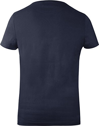 GOZOO Warcraft T-Shirt Uomo For The Alliance 100% Cotone Blu
