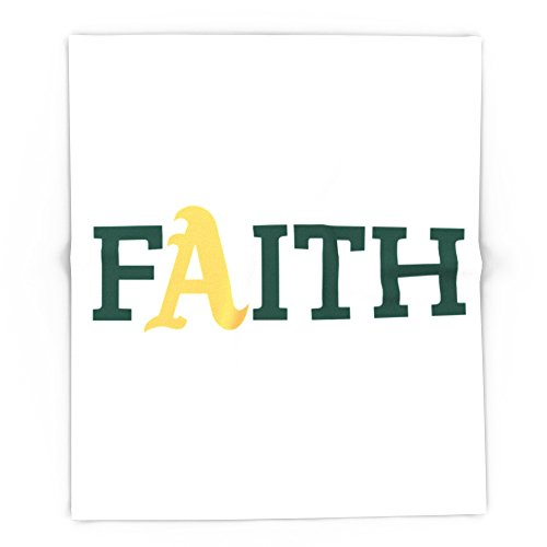 Society6 Oakland A's Faith 88'' x 104'' Blanket by Society6