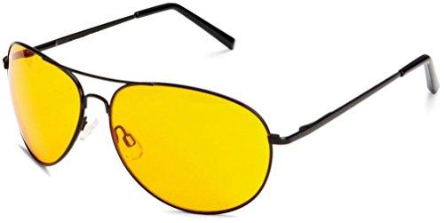 de sol morefaz Aviator para Night hombre Gafas q054F