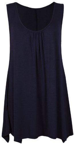 Purple Purple Canotta Hanger Blu donna Hanger vSw55nqxdp