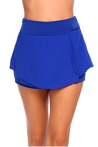 9b470ee4fb Zeagoo Women Swim Yoga Running Sport Skirt Tankini Swimsuit Surfing Swimwear  UV Protection Skorts