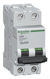 SCHNEIDER ELECTRIC Supplementary Protector 480Y/277-Volt 5-Amp 2-Pole MG17444 Miniature Circuit Breaker 277V 70A