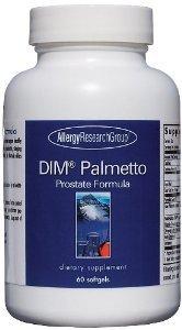 Исследовательская группа аллергиков Dim Palmetto простаты Формула 60 Softgels