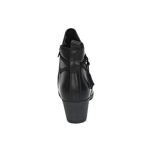 9301 Botines Mujer I19 Negro Piel De Aback wAfEq5