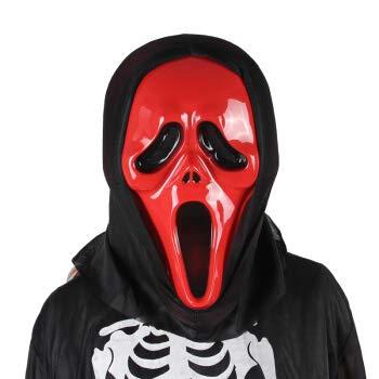 WANGXIAOWU Mueca Demon Props Arnés Completo Casa embrujada Máscara ...
