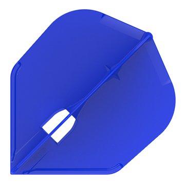 L-style L3c Shape Champagne Dart Flights - Blue