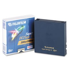 1/2quot; Super DLT Cartridge, 2066ft, 300GB Native/600GB Compressed Cap by Reg